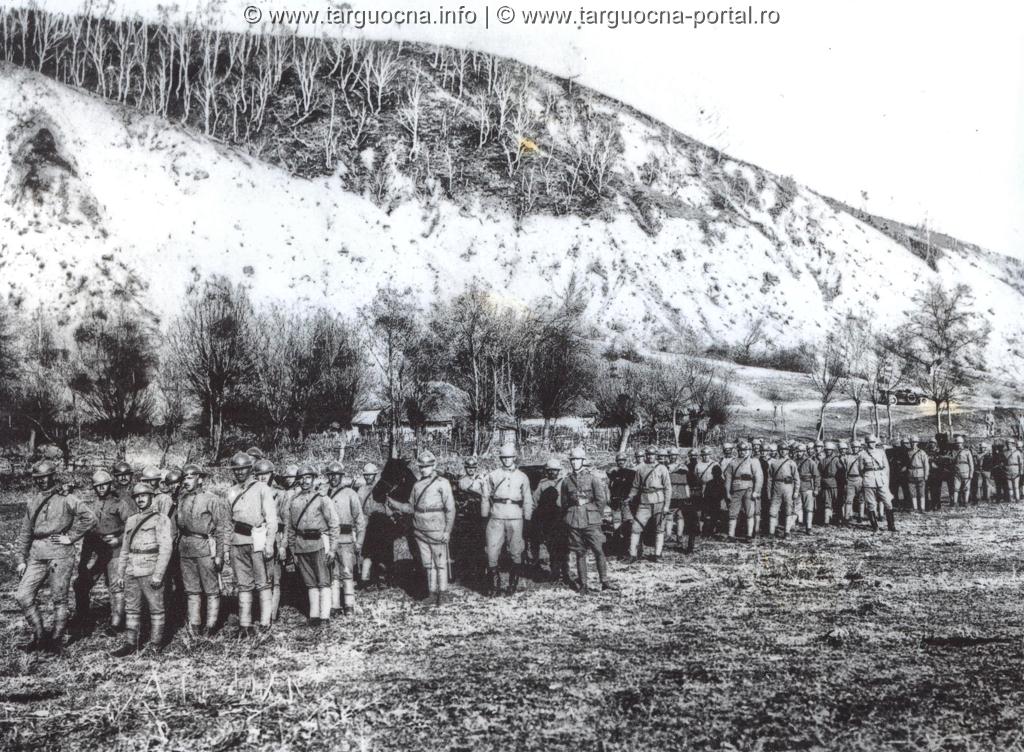 Companie din Batalionul de Vânători de Munte Târgu Neamț 1917