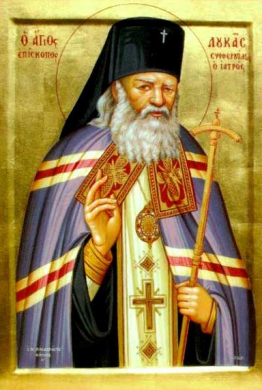 Moaştele Sfântului Luca al Crimeei la Biserica Răducanu