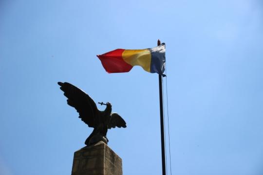 Ziua eroilor omagiată în staţiunea turistică Târgu-Ocna