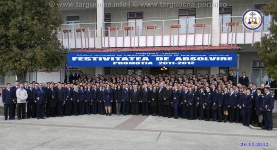 Festivitatea de absolvire 2011-2012 la SNPAP Târgu-Ocna