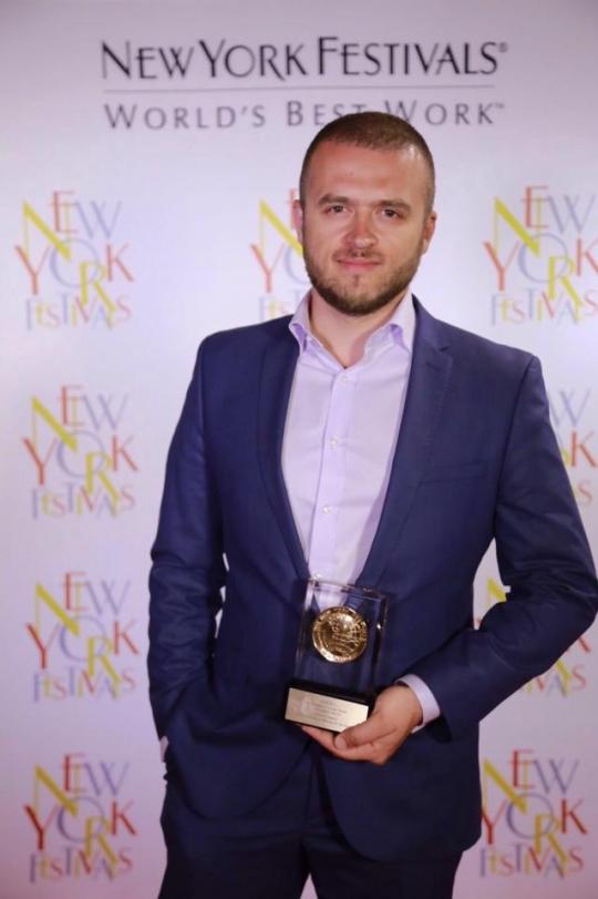 Târgocneanul Andrei Ciurcanu premiat alături de echipa sa