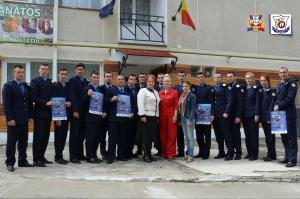 """Programul ,, Educaţie pentru siguranţa tinerilor"""" la SNPAP Târgu-Ocna"""