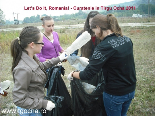 Let's do it Târgu-Ocna 2011