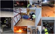 Exerciţiu practic de evacuare în caz de incendiu la SNPAP Târgu-Ocna-nov 2016