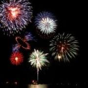 Artificiile de revelion în Staţiunea Târgu-Ocna 2010-2011