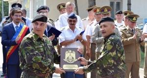 """60 de ani de la înfiinţarea Batalionului 631 Tancuri """"Oituz"""""""