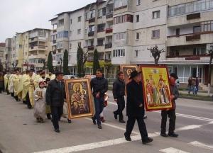 Primăvara credinţei ortodoxe, sărbătorită în Târgu Ocna.