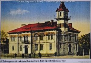 Contract privind construirea localului primăriei oraşului Târgu-Ocna