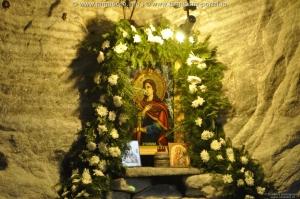 Mina Salina - hramul bisericii din mină - Sfânta Varvara.
